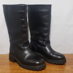VTG LL Bean Water Proof Mid Calf lined boots